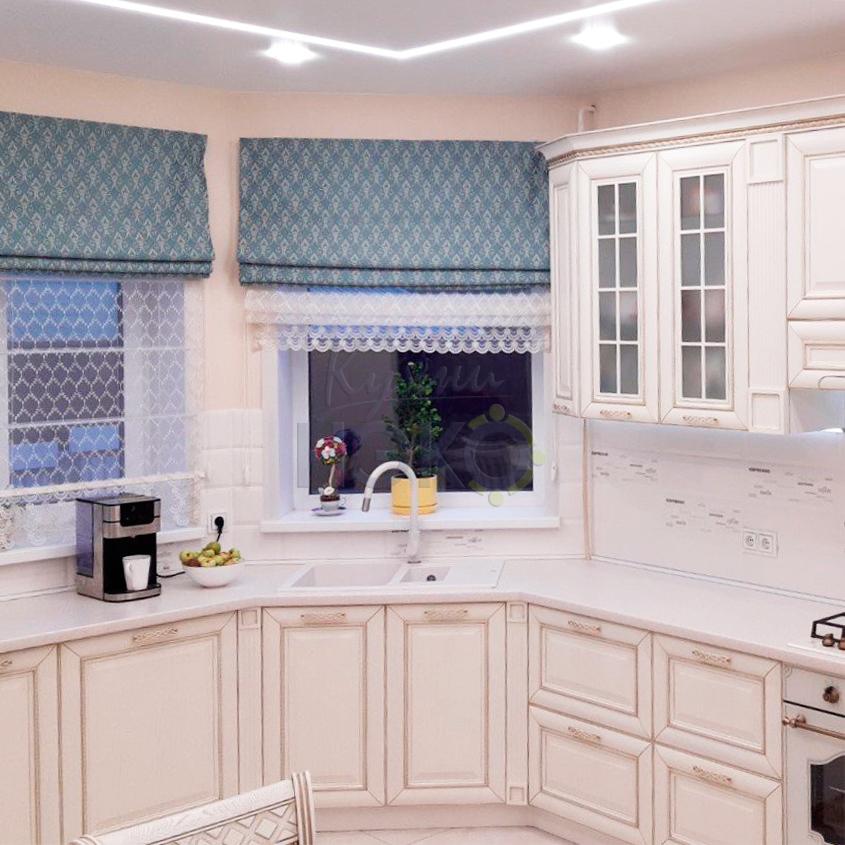 Воздушная классическая кухня