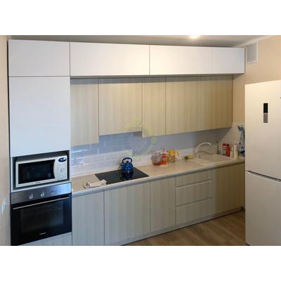 Кухня с интегрированными фасадами