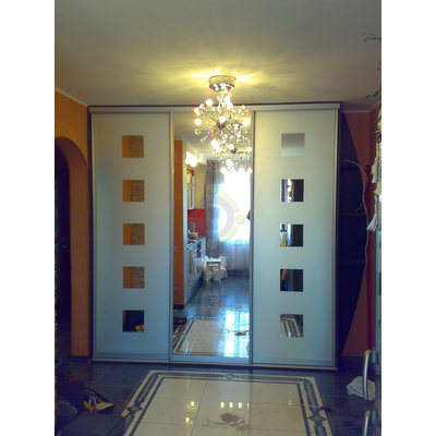Шкаф-купе 3-х дверный, двери - зеркало