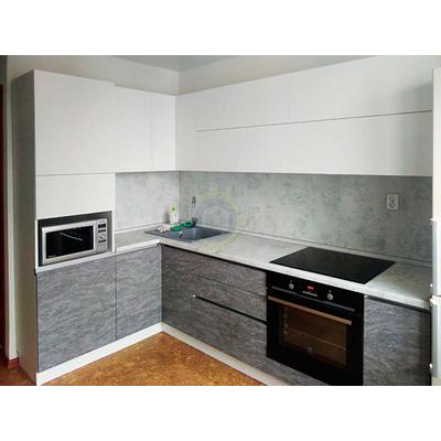 Серо-белая кухня на заказ