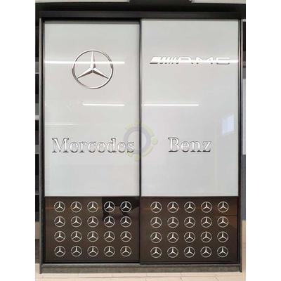 Шкаф-купе 2-х створчатый с печатью