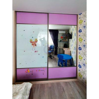 Шкаф-купе 2-х дверный с печатью в детскую