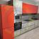 Кухня с фасадами МДФ с пластиком